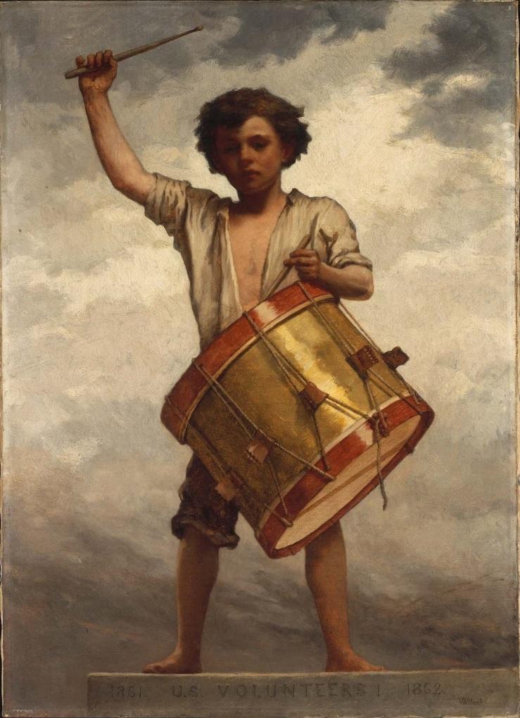 The_Drummer_Boy_William_Morris_Hunt
